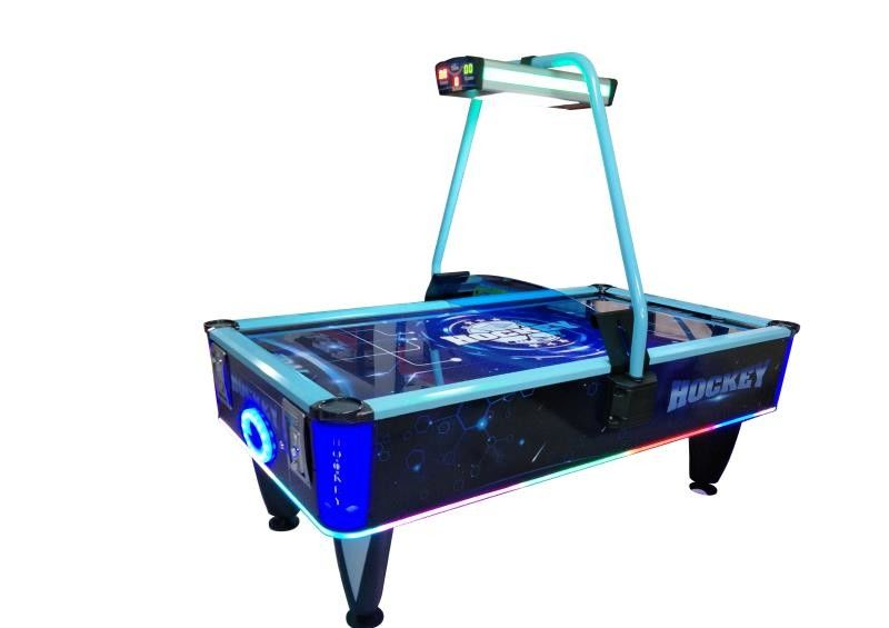 Moveable Sports Game Machine Indoor Air Hockey Game For Entertainment