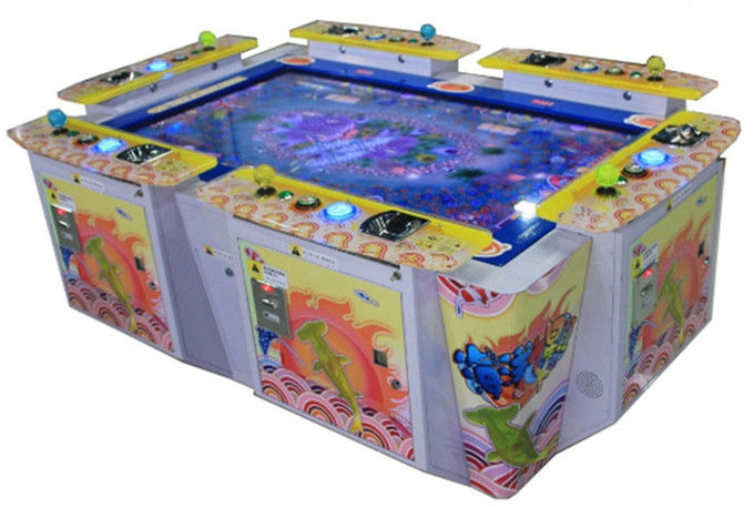 High Resolution Display Amusement Game Machine L2000*W1500*H800mm Dimensions