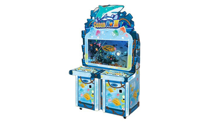 220v/110v Coin Operated Game Machine , 250kg Commercial Arcade Machines