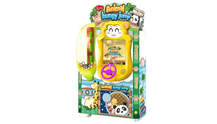 Flexible Placement Amusement Game Machine With Adorable Game Character