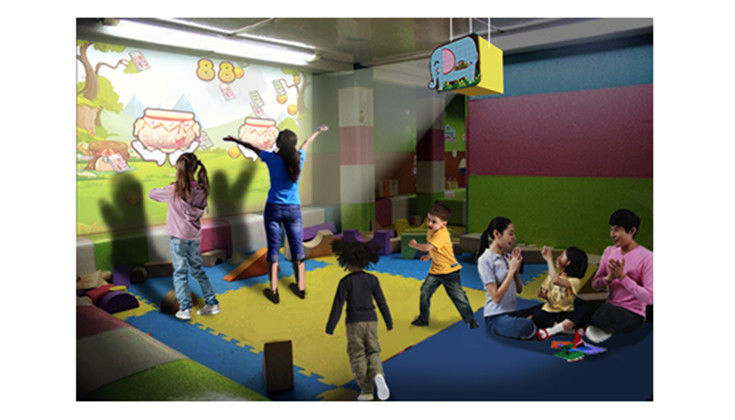 Attractive Interactive Wall Display , Picture Slide Game 600mm(l)*495mm(w)*500mm(h)