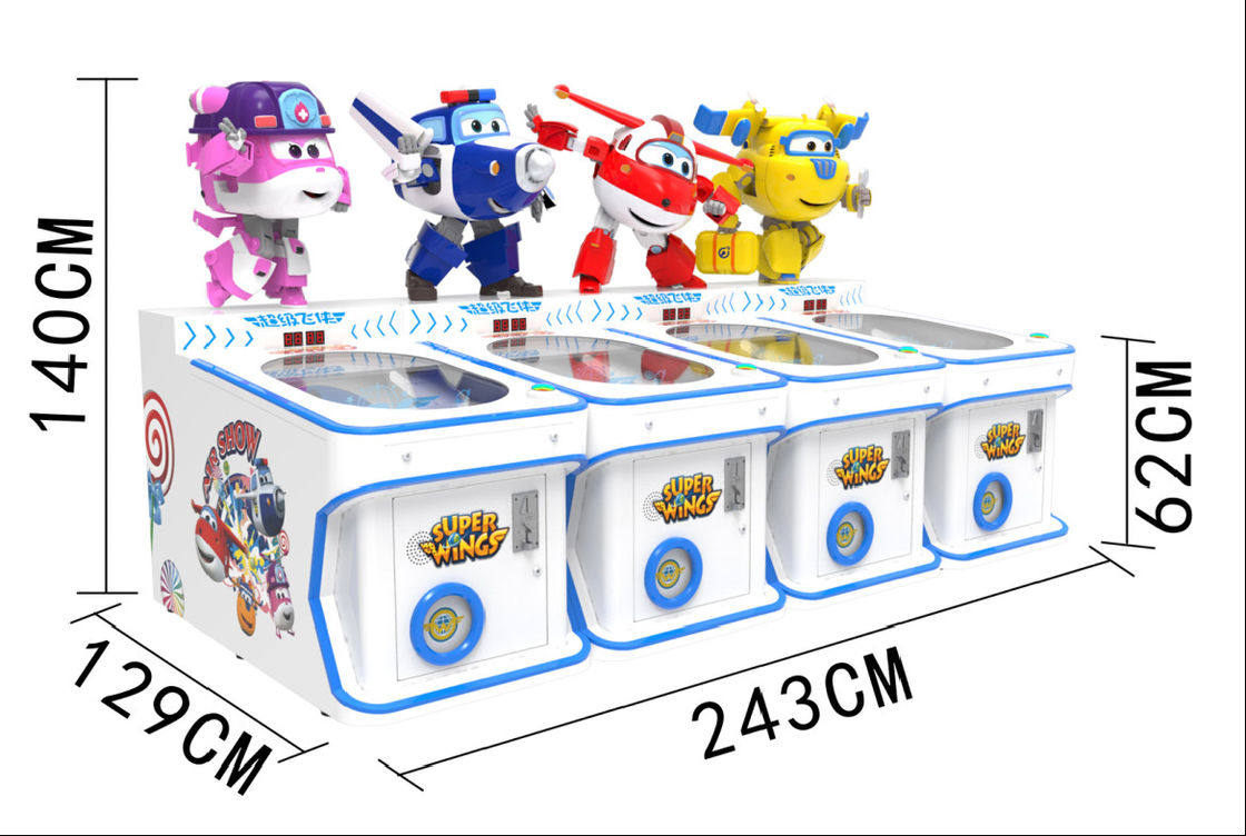 Children Amusement Game Machine , Candy Outlet Machine Candy Vending Machine