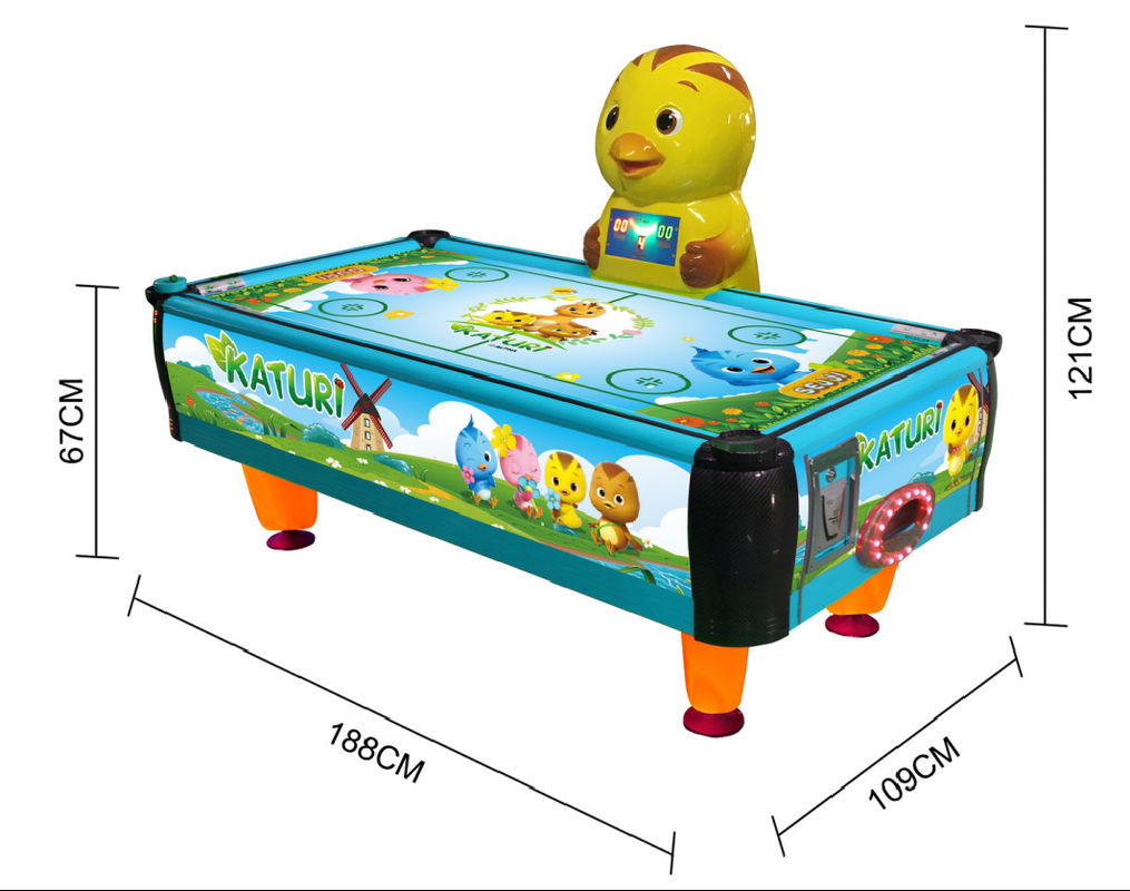 Indoor Amusement Park Coin Operated Air Hockey Machine Children Sport Game Machine