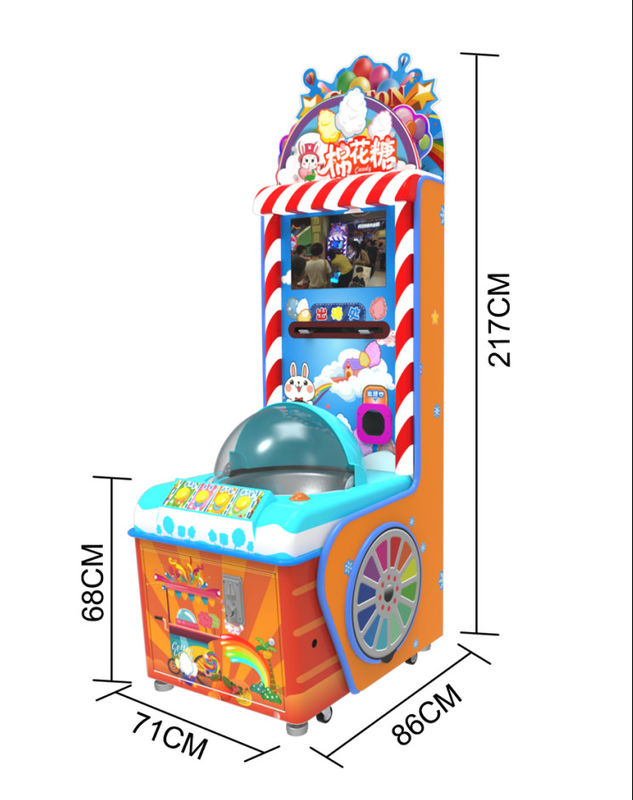 Arcade Game Machine DIY Marshmallow Machine Used In Supermarket Or Location